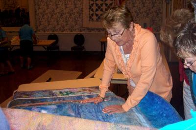 Marianne Williamson teaching