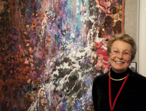 Marianne R. Williamson at the Opening of Quilt National